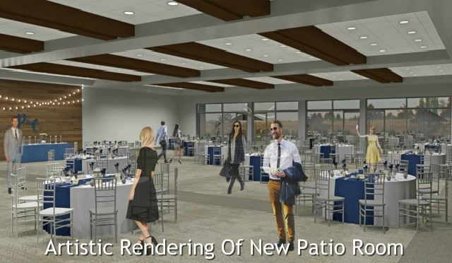 Artistic Rendering of New Patio Room In Expo West